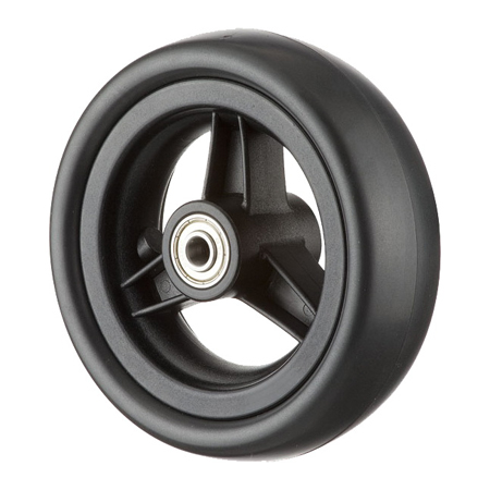 "5"" PU Wheel with Rubber Tire"