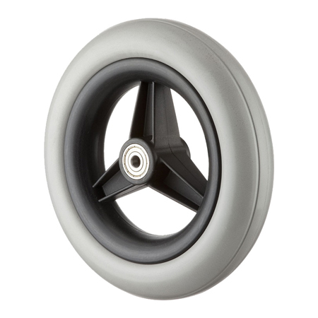 "8x1-1/2"" Wheel with PU Foam Tire GH0801U"
