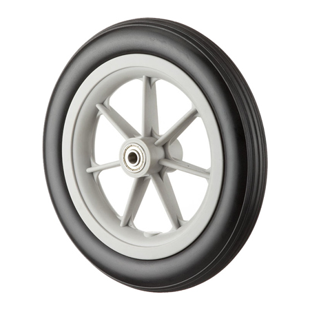 "8x1-1/4"" Wheel with PU Foam Tire GH0806U"