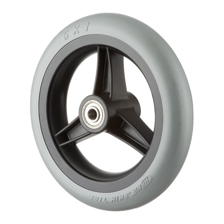 "6x1"" Rubber Wheel GH0602R"