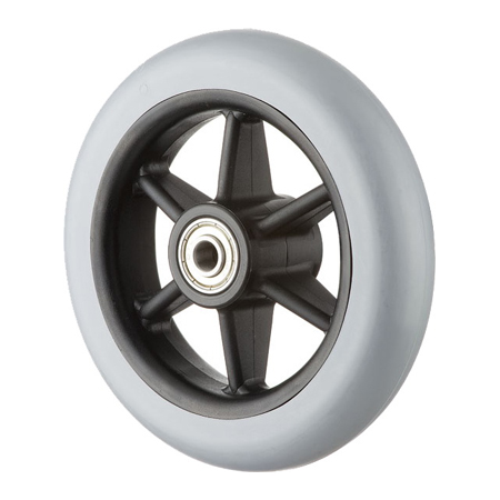 "5x1"" Wheel with Solid PU Tire GH0507"