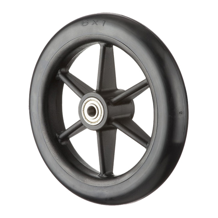 "6x1"" Solid PU Tire GH0607"