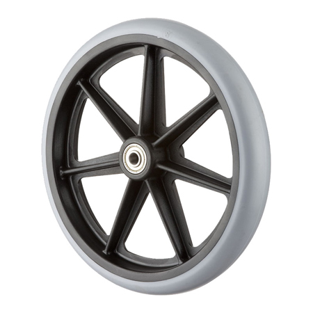 "8x1"" Wheel with Solid PU Tire"
