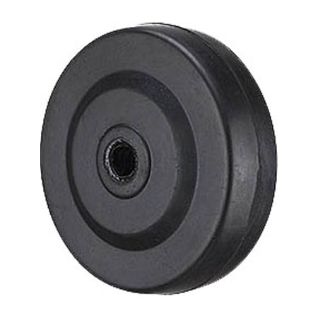 75x20mm Wheel with Solid Rubber Tire GH0302