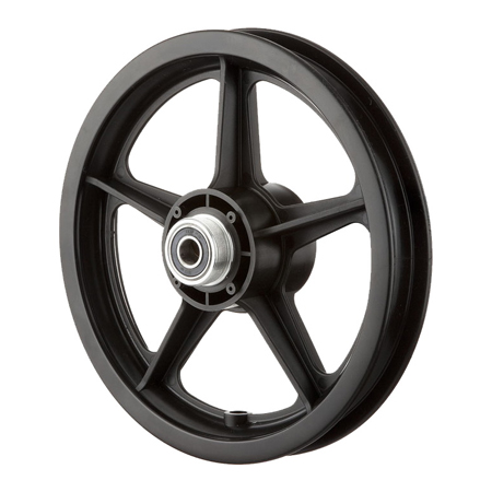 "12"" wheels, 12"" Wheel Band Brake"